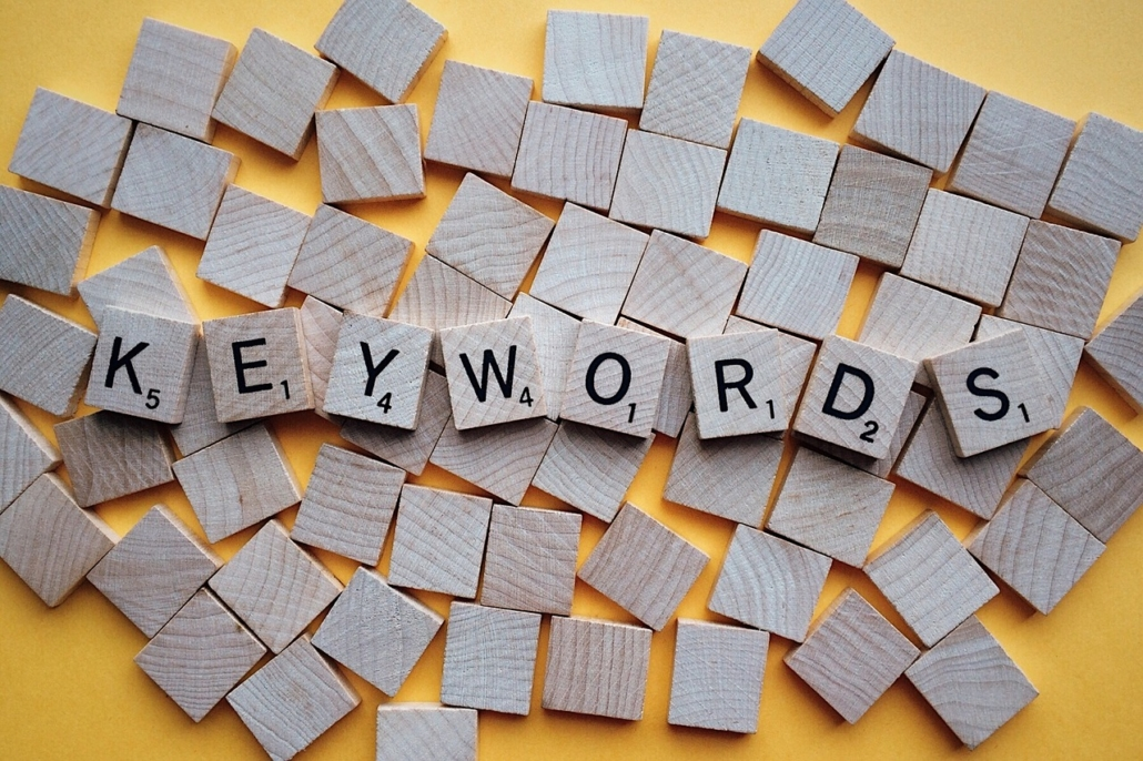 launching a business blog - keywords